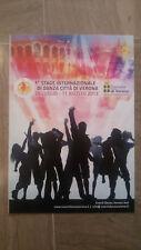 D6 VOLANTINO 1° STAGE INTERNAZIONALE DI DANZA VERONA - 28/07-11/08/2013