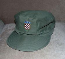 Croatia HV Cap with label - infantry