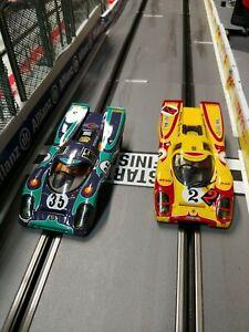 Pair Of Carrera Digital 132 Porsche 917k slot Cars