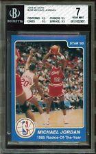 💎 1984-85 Star Michael Jordan #288 (ROY) - 'High End' HOF Rookie RC - BGS 7 NM