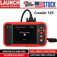 LAUNCH X431 CRP129 Automotive OBD2 Scanner Engine ABS SRS SAS Oil EPB Reset Tool