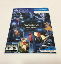 PLAYSTATION VR: DEMO DISC 2.0 (PS4) DISC ONLY
