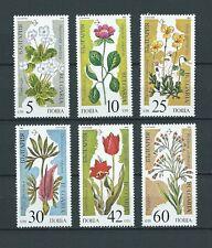 BULGARIE - 1989 YT 3229A à 3229F PLANTES - TIMBRES NEUFS** MNH