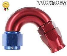 AN -6 (AN6 JIC -6 AN 06) 150 Degree ULTRAFLOW Teflon PTFE Hose Fitting