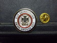 Pin Zur Erinnerung An Die Grosse Zeit EK 1914 Abzeichen - 2,5 cm