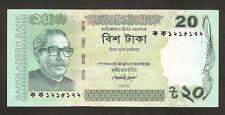 Bangladesh 20 Taka 2012 Unc Pn New