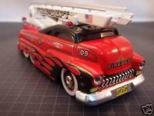 CUSTOM CREW RED FIRE ENGINE LADDER TRUCK DRAG BUS SLEDSTER EVO