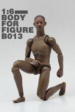 Very HOT Male Narrow Shoulder Nude Body w/ Smith Head Figure Black Ver. B013