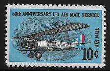 US Scott #C74, Single 1968 Air Mail 10c VF MNH