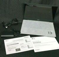 "LG GRAM 13Z990 12GB RAM - 256GB SSD Core i5 13.3"" Ultra-Lightweight Touchscreen"
