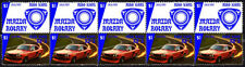 MAZDA AUTO ICONS STRIP OF 10 VIGNETTE STAMPS, MAZDA RX3