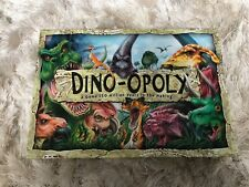 Dino-opoly Board Game Monopoly 100% Complete