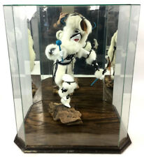 G. David Signed White Buffalo Kachina W/ Display Lot 1038