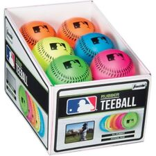 Franklin Sports Mlb Neon Rubber Teeball, Assorted Colors One Ball W