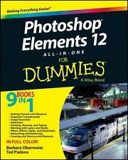 Photoshop Elements 12 All-in-One For Dummies, Obermeier, Barbara, Padova, Ted, G