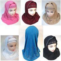 Kopftuch Kopfbedeckung Hijab Kopf Tuch islam Muslim Niqab Khimar Abaya 38