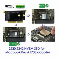 2230 2240 length NVME SSD for Macbook Pro A1708 adapter upgrade card new