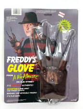 1984 Nightmare on Elm Street Freddy's Glove Plastic Replica MOC