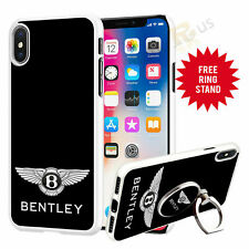 Bentley Car Phone Case Cover & Finger Ring Stand For Top Mobiles 041-14
