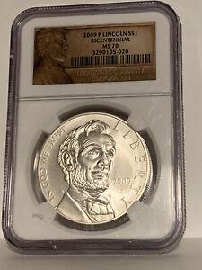 2009-P Lincoln $1 Bicentennial MS 70 Coin! NGC Grade! **