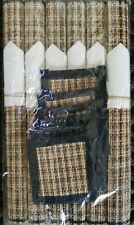 """Bamboo placemats 12""""x18  table  protector  set of 4 with coasters"""