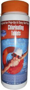 "Qualco 1"" Stabilized Swimming Pool Spa Chlorine Tablets 1.5 lb - Utikem"