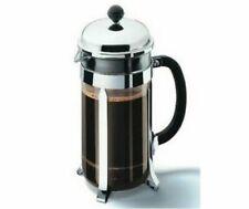 Bodum Chambord Press Coffee Maker (Silver) - 8 Cup/1L