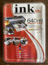 Ink Refill System 640 ML IMS for HP Epson Canon Lexmark