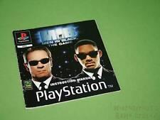 Playstation PS1 manual de instrucciones-Hombres Negros El Juego * sin Juego *