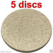 Coral Frag Disc XL 3 Inch Circle 5 Discs FAST FREE USA SHIPPING