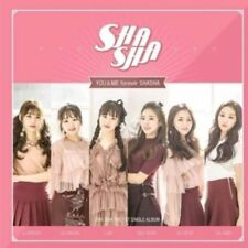 SHA SHA [YOU&ME FOREVER SHASHA] 1st Single Album CD+POSTER+P.Book K-POP SEALED