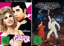 2 DVDs * JOHN TRAVOLTA SET - GREASE + SATURDAY NIGHT FEVER # NEU OVP +