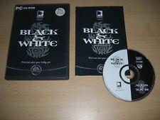BLACK & WHITE 1 Pc Cd Rom Original Release B&W - FAST DISPATCH