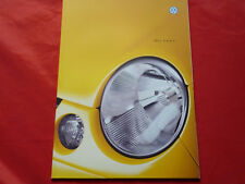VW Lupo Basis Trendline Comfortline Colour Concept Prospekt von 2000