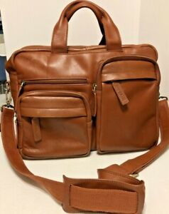 EPIPHANIE Ginger Brown Camera Shoulder Bag Synthetic leather 10 Compartments.