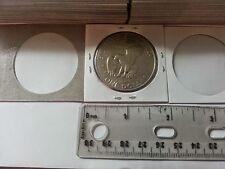 Five Hundred (500) 2X2 Coin Holder Flips for Large Dollar Protector Mylar Flip