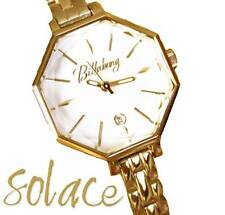 Gold Plated Case Dress/Formal Polished Wristwatches