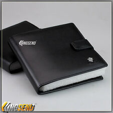 deluxe SUZUKI Leather CD Case Car DVD Holder Disc Album Disk Storage Carry Box