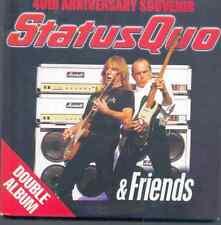 STATUS QUO & FRIENDS: 40TH ANNIVERSARY SOUVENIR -2 CD PROMO (2005) DOUBLE ALBUM