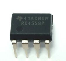 5PCS Texas Instruments RC4558P RC4558 Dual Operational Amplifier DIP-8 New IC