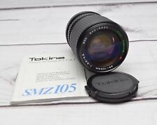 RMC Tokina 35mm-105mm f3.5-4.5 Camera Lens For Minolta MD Mount SZM 105