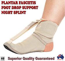 Adjustable Plantar Fasciitis Foot Pain Brace Toes Sports Elevator Night Splint