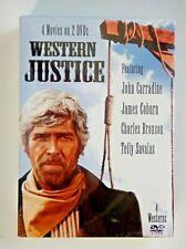 Western Justice (2) DVDS (4) Movies (2007)(Still Sealed)