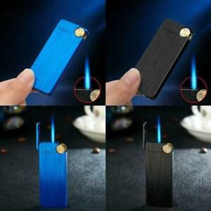 Windproof Refillable Butane Lighter Torch Flame Cigar Cigarette Lighters Metal