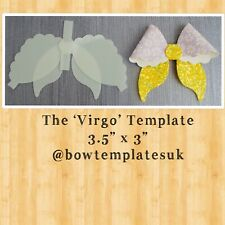 Hairbow template, bow template, DIY hairbow set, plastic bow template