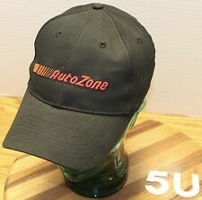 AUTO ZONE ADJUSTABLE HAT BLACK EMBROIDERED LETTERING EXCELLENT CONDITION