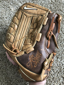 "Nike Air Show Elite 12"" Baseball Glove Right Hand Throw EUC BARELY USED LIKENEW"
