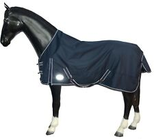 LIGHTWEIGHT WATERPROOF RAIN  TURNOUT HORSE RUG *FLEECE LINING*