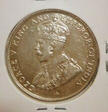 Straits Settlements King George V  Half Dollar  1920 (UNC/BU)