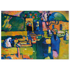 Wassily Kandinsky, Arabischer Friedhof, Poster